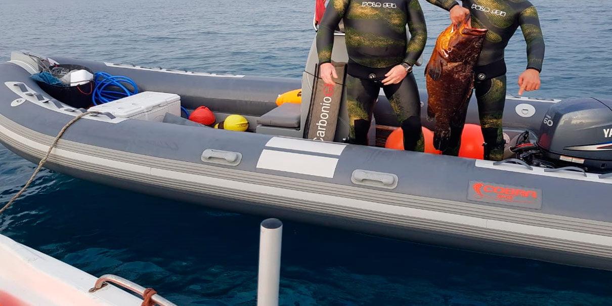 Semirrígida Cobra Pesca Submarina