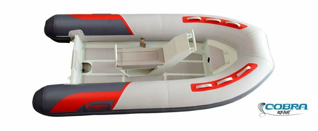 Embarcación semirrígida Cobra 330 ALU Neo